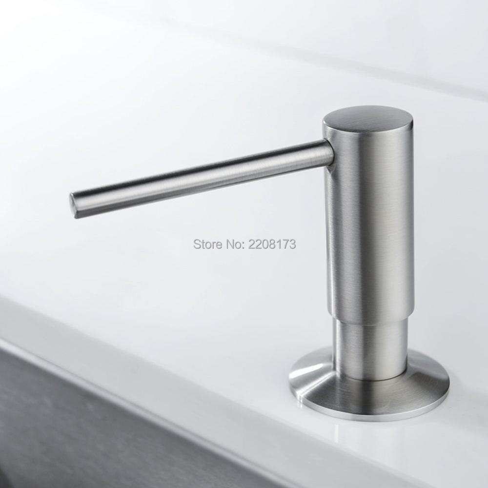 Distribuidor de sabonete líquido Distribuidor de sabonete líquido para cozinha Distribuidor de sabonete líquido para banheiro