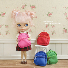 7.5cm Doll backpack canvas bag available for Blythe doll Pullip DAL doll accessories