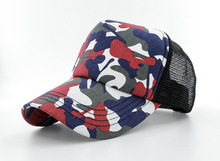 New Camouflage Bone Snapback Baseball Caps Strapback Mesh Hats Red Camo Golf Visor Mesh Caps Trucker Sports Casquette Gorras