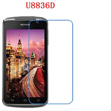 Explosion proof phone film Anti-Fingerprints touch  preserving eyesight for Huawei U8836D Screen Protector