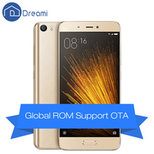 Dreami Original Xiaomi Mi5 Prime Cellphone 3GB RAM 64GB ROM Snapdragon 820 Quad core 5.15 inch 16MP Dual Sim 4K Mi 5 Fingerprint