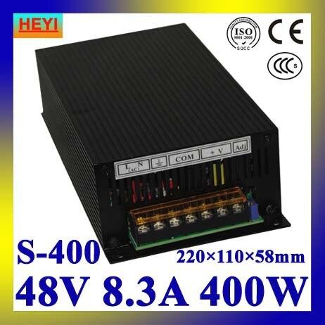 LED power supply  48V 8.3A 100~120V/200~240V AC input single output switching power supply 400W 48V transformer<br>