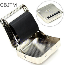 CBJTM 1pc high quality New 70mm Metal Automatic Cigarette Tobacco Smoking Rolling Machine Roller Box   HXP001