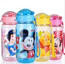 400ml Eco-friendly Kid Bickiepegs baby kettle baby cartoon water bottle children Straw Bottle Children kettle sports bottle 1pc