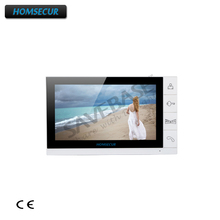 "HOMSECUR 9"" Monitor DP-998 for Video Door Phone Intercom Entry System 1V1, 1V2, 1V3,1V4, 2v1, 2v2, 2V3, 2V4(China)"