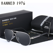2017 HD Polarized men's aviation Sunglasses brand new male cool driving Sun Glasses driving eyewear gafas de sol shades with box