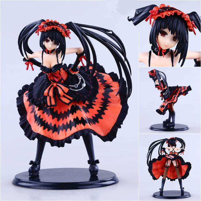 21CM Anime Date A Live Nightmare Tokisaki Kurumi PVC Action Figure Model Collection Toy A117<br><br>Aliexpress