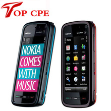 5800 mobile phone Original Nokia 5800 XpressMusic mobile phone 3.2MP Camera,3G,A-GPS,WiF Russian Polish Support Free shipping(China)