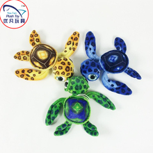 Fashion design toy pattern sea turtle stuffed toy plush sea animal mini colorful gift soft toy turtle(China)