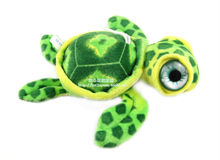 New Arrival stuffed animals mini size turtle pendant Bag Key Small charms Plush Toy Decor for car baby gifts valentine days