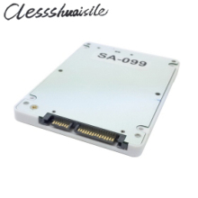 "7mm 2.5"" SATA 22pin for Macbook A1425 A1398 MC975 MC976 MD212 MD213 ME662 ME664 ME665 SSD hard disk case Enclosure White"