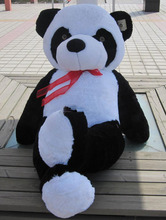 2016 new 100 cm Panda Bear Stuffed Plush Animal Toy Best Valentine Gift for Girlfriend Lover(China)