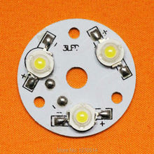 3W LED PCB, high power LED lamp beads aluminum plate, aluminum plate with welding finished LED lamp beads, DIY accessories