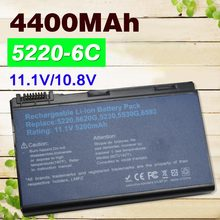 4400mAh Battery 5220 For ACER Extensa 5210 5230 5420 5610 5620 5630 7220 7620 For TravelMate 5230 5320 5520 5530 5710 5720