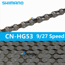 MTB Road Cycling Stainless Steel HG53-9 Chain 9 Speed 112 Link Bike Bicycle Durable Use Stretch Proof Treatment - Positive bike Store store