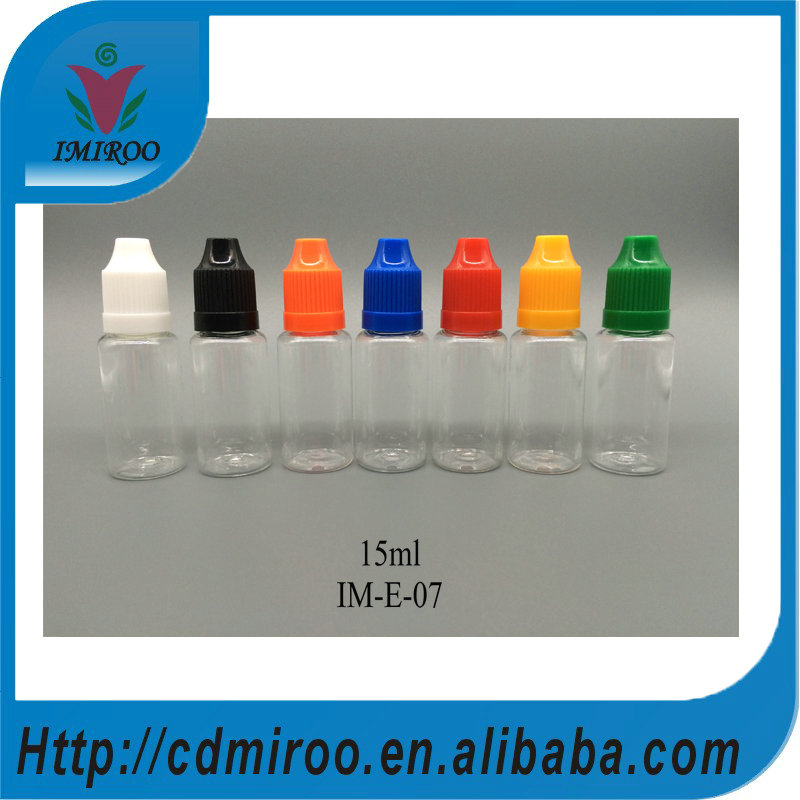 100pcs/lot 15ml of essential oil/eye drops many USES high quality plastic bottle<br>