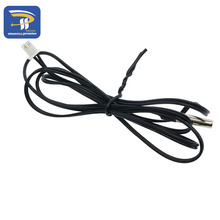 10PCS/LOT High temperature 1M NTC temperature sensor 10K 1% 1 meter accuracy temperature sensing probe MF58 3950