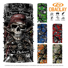 Custom Above 800 Styles Select 3D Design Scarf Function Magic Seamless Bandana Ski Sport Motorcycle Biker Scarf Face Mask