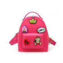 c4128e192e91 Cute School Backpack For Children Kid Bag Candy Color Kindergarten School Bags  Mini Backpack Women Teenage Girl Mochila Escolar