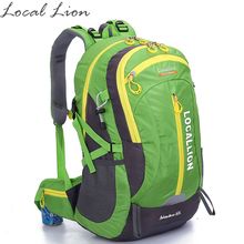 LOCAL LION Hiking Backpacks Mountaineering Bags Water-resistant Outdoor Sport Backpack Climbing Daypack Sport Bag HT477