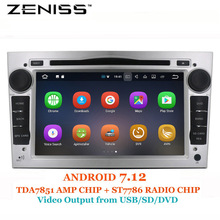 Zeniss Universal 2din for Opel Astra Vectra Antara Corsa Car DVD Android GMC Terrian GPS Navigation WIFI RDS