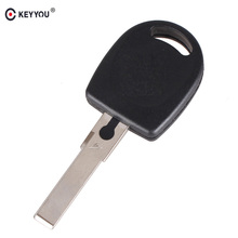 KEYYOU remote car key Blank Shell For Volkswagen (VW) B5 Passat Transponder Key (HU66) Free Shipping