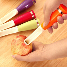 YANXIN 1 PCS Apples Core Removers Plastic Apple Pear Chili Corers Fruits And Vegetables Kernel Remover Core Seed Remover Tools(China)