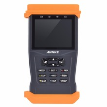 ANNKE AHD Hybrid CCTV Tester with 3.5-inch LCD Screen CCTV Camera Video Tester Support PTZ control(China)