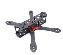 DIY mini drone Alien 225 225mm FPV cross racing quadcopter pure carbon fiber frame Upgrade Martian 220(China)