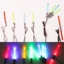 LED light lightsaber lego figure Toys Star Wars lego /pin Force Awakens Nano Light Set DIY Toys Children