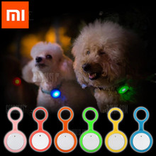Original xiaomi mijia Roidmi Smart Dog Button Tag Flashing Anti-lost Safety Light Pets Ornaments smart Mi home kit - TOP ELEVISION DESIGN store