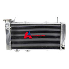 High Quality ATV 2ROW ALUMINUM ATV RADIATOR FOR HONDA TRX700 TRX700XX TRX 700 700XX 2008 09 Motorcycle Cooling Replacement Parts