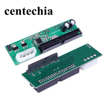 Centechia New Pata IDE To Sata Hard Drive Adapter Converter 3.5 HDD Parallel to Serial ATA New pci to pci express adapter card