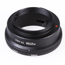Oversea Stock Fotga Camera Lens Adapter Mount Ring for Canon FD Lens to use for Sony NEX E NEX-3 NEX-5 NEX-VG10