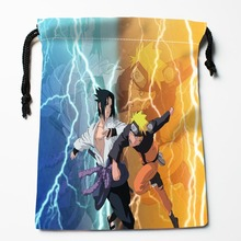 Best Naruto naruto Drawstring Bags Custom Storage Printed Receive Bag Type Bags Size 18X22cm Storage Bags