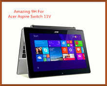 Hot Selling Amazing 9H Slim Scratch Resist Tempered Glass Screen Protector For Acer Aspire Switch 11 V Free Shipping