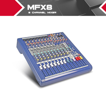 Highest quality!!!Soundcraft MFX8/2 Stage performances Mixer with Effects 110V-220V Voltage 8 channel mixer video karaoke mixer