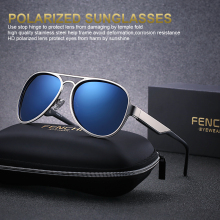 2019 New Men driving glasses Polarized Sunglasses
