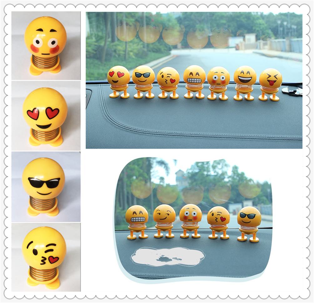 Car accessories center console shape funny expression toy for Audi A4 Avant A4 Cabriolet A6L A8L
