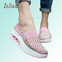 2017 fashion sport shoes Autumn casual shoes platform women sneakers woman trainers ladies footwear chaussure femme qj-1668(China)
