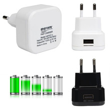 New product Arrival Europe standard protable adapter Travel Quick Charge 2.0 18W 9V USB Turbo Wall Charger Fast Charging