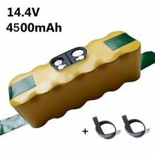 14.4V 4500mAh Ni-MH Battery for iRobot Roomba Vacuum Cleaner for 500 560 530 510 562 550 570 581 610 650 790 800 860 870 880 980