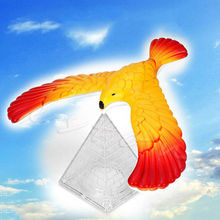 Miracle Style Novelty Amaze Eagle Magic Box Balance Bird Desk Display Doll Fun Learn Toy Children Kid Best Gift