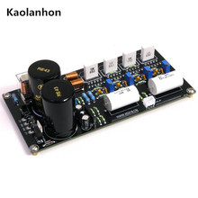 LM3886T 125W 2.0 channel parallel post power amplifier board(China)