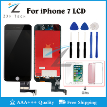 1PCS Display For iPhone 7 LCD Grade AAA++ LCD Digitizer Complete 3D Touch Screen with Assembly Replacement Free Ship with Gifts(China)