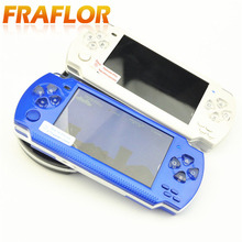 Free Shipping handheld Game Console 4.3 Inch Screen Mp4 Player MP5 Game Player Real 8GB Support For PSP Game Camera Video e-book(China)