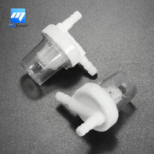 "A Pair Clear Universal  1/4"" 6mm Motorcycle Petrol Fuel Filter fits for all kinds of motorcycle using 1/4 inch (6mm) Fuel line"