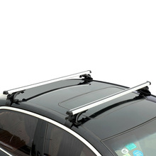 2pcs 120cm Aluminium Alloy Car Roof Rack Cross Bar Holder for Auto SUV Load Cargo Luggage Carrier 70kg(China)