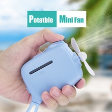Mini Handheld Cooling Fan USB Rechargeable Humidifier Portable Mist Water Sprayer Portable Rechargeable USB Gadgets For Outdoor