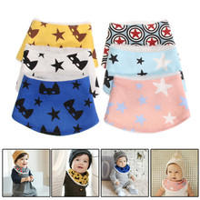 Cotton Baby Bibs Kids Cartoon Towel Saliva Child scarf Collar Bandana Bibs Baby Girls Bandanas Baby Clothing Accessory(China)